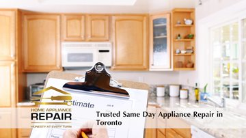 Speedy Same Day Appliance Repair in Toronto samedayappliancerepairtoronto
